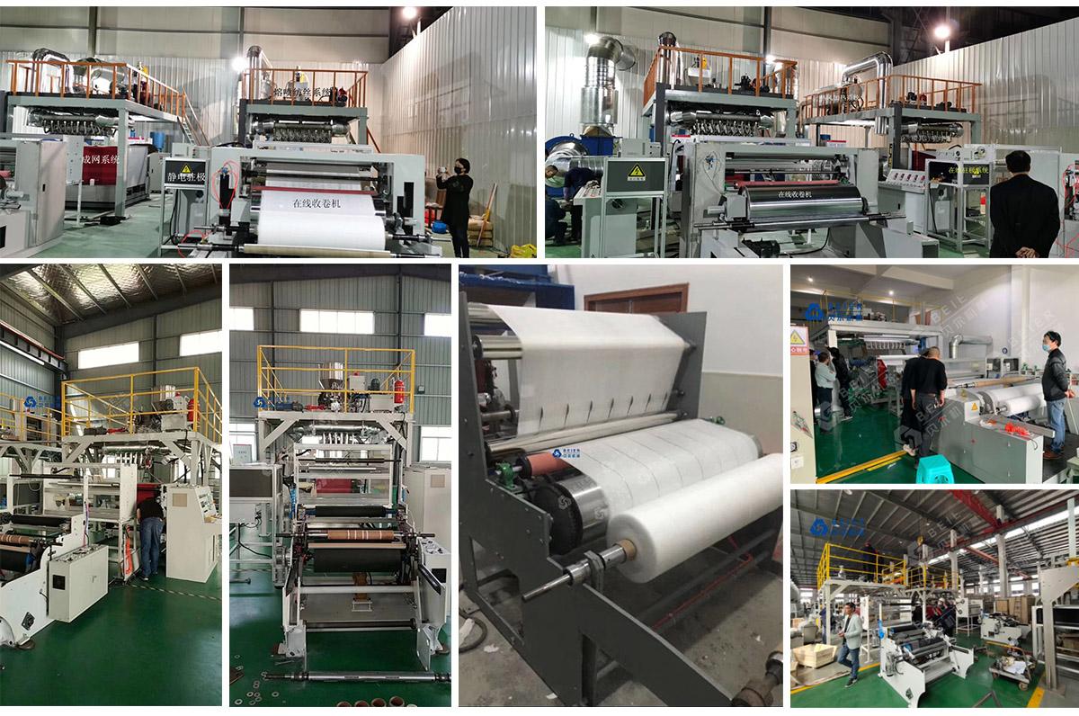 Melt blown fabric productin line-melt blown fabric production line manufactory   Beier machinery